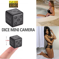Portable HD1080P Mini Camera recorder micro Action Secret DV Camera Video voice Recorder Portable Micro Cam 360 HD Dice Camera