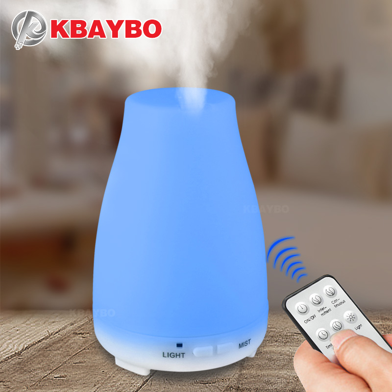 KBAYBO 200ml Aroma Essential Oil Diffuser ultrasonic air Humidifier aromatherapy Cool Mist maker fogger for Home Office and Baby mini music changing color ultrasonic air humidifier essential oil aroma diffuser aromatherapy home office mist maker fogger
