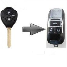 Пустой изменения флип складные дистанционного ключа shell чехол для Toyota Camry/Corolla 3 кнопки с самым лучшим ценой