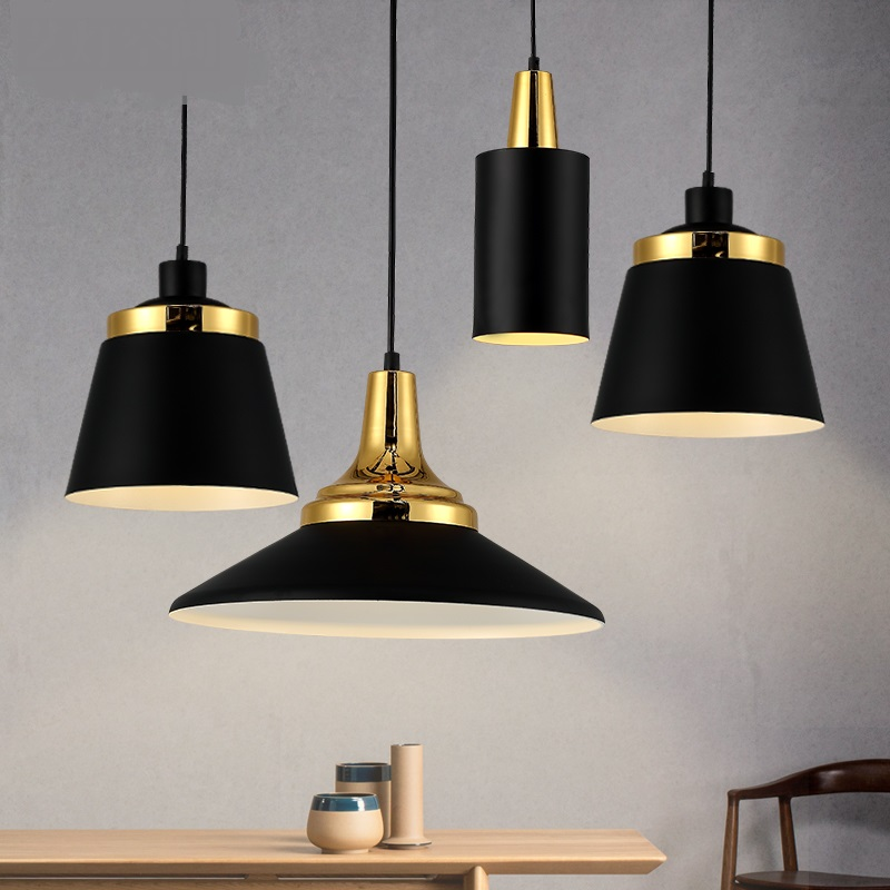 modern iron black white pendant lamps bar restaurant originality simplicity dining room coffee room pendant light ZA10300 single head small bar of korean modern minimalist iron pendant lamps dining room pendant light the living room kitchen