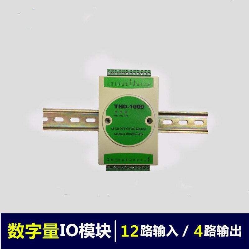 Digital Data Acquisition Module / Input and Output Module Digital to RS485 Module Communication MODBUS RTU
