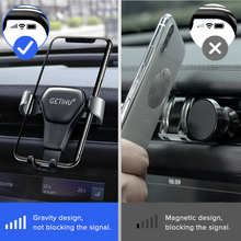 Car Phone Holder with Air Vent Clip Mount
