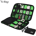 Men Travel Make Up Cosmetic Bag Case Women Makeup Bag Toiletries Kit Pad Phone power Cable Organizer Cosmetic Case
