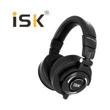 2018 ใหม่ ISK MDH9000 Hifi Hd Monitor หูฟังปิดอย่างเต็มที่สำหรับคอมพิวเตอร์บันทึกการตรวจสอบหูฟังไดรเวอร์ 50 มม.