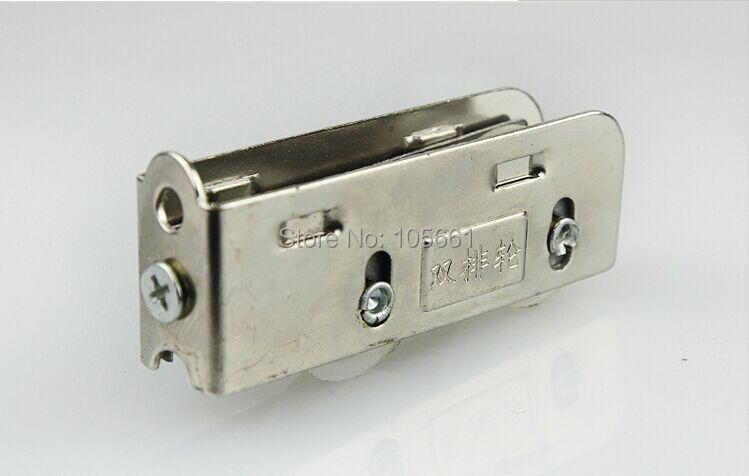 Раздвижной дверной шкив из алюминиевого сплава 868 дверей и окон медный сердечник Двухрядное колесо