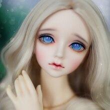 2018 recién llegado 1/3 BJD muñeca BJD / SD moda LM Roselyns resina conjunta muñeca para niña cumpleaños regalo de Navidad con los ojos