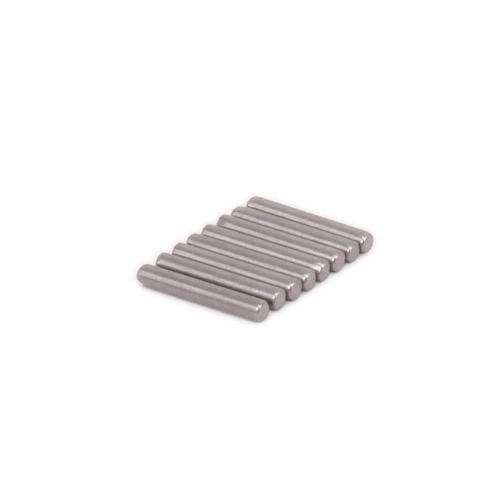 8 stks Staal 2x10mm As cross adapter Pins Wiel Hex fit 1:10 Voor RC Model Auto Himoto HSP Tamiya TRAXXAS E10MTL E10MT E10BP