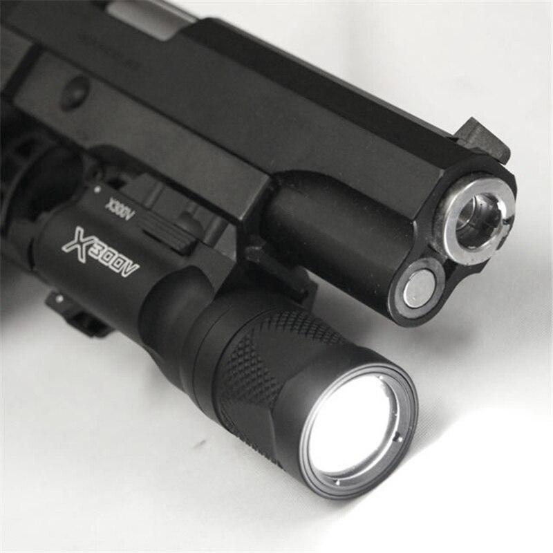 Airsoft X300V Arme Arme lumière LED pistolet lampe Softair tactique lampe de poche pistolet lanterne tir chasse lumières