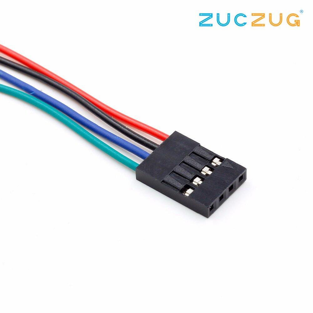 Jumper Kabel female weiblich 70 cm 3D-Drucker RepRap Arduino 5x 4 Pin Dupont