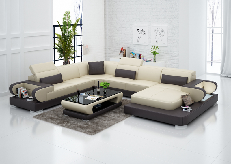 Normal Leather Wooden Sofa Set Designs Prices In Pakistan In Living
