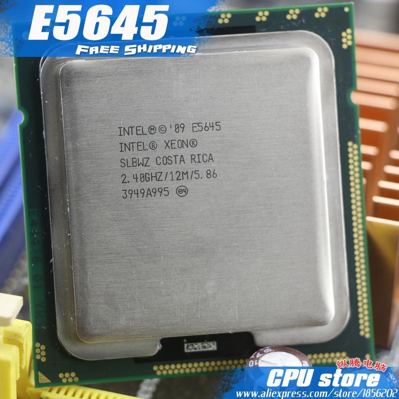 Intel Xeon E5645 6 Core 2.40GHz 12MB L3 Cache Socket LGA1366SLBWZ