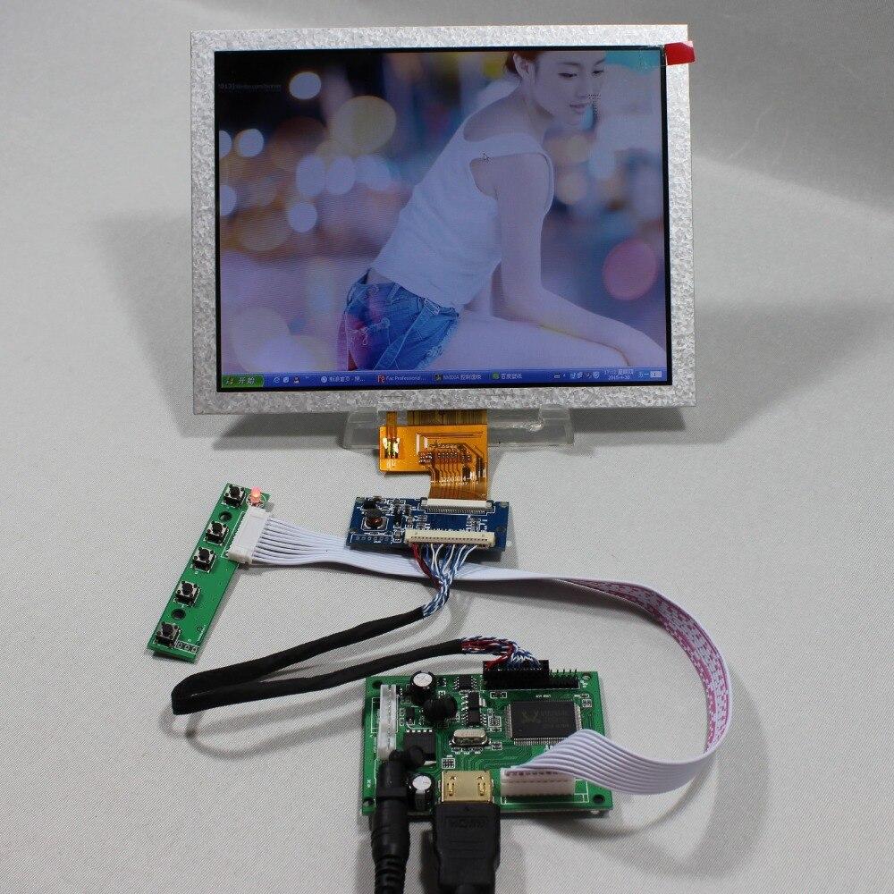 HDMI LCD Controller Board VS-TY2660H-V1 8inch EJ080NA-04C 1024x768 lcd panel