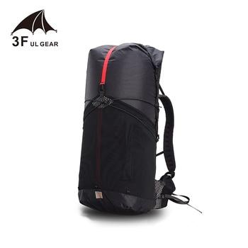 3F UL 55L Large XPAC Ultralight Frame Less Backpack 4