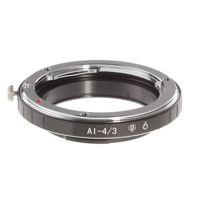 Fotga AI-4/3 Adapter Ring for Nikon AI F Lens to Olympus Panasonic 4/3 Four Thirds Camera E-510 E620