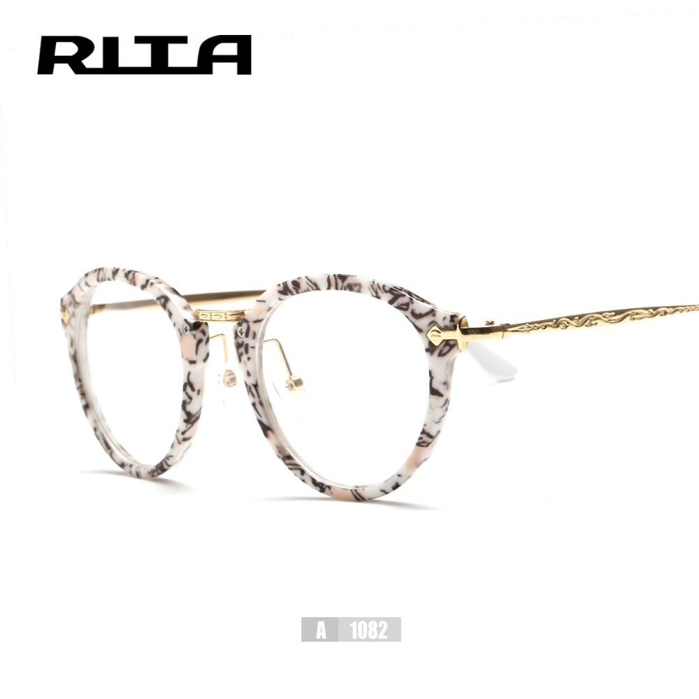 Neue vogue runde optischen rahmen stilvolle nette brille für frauen ...