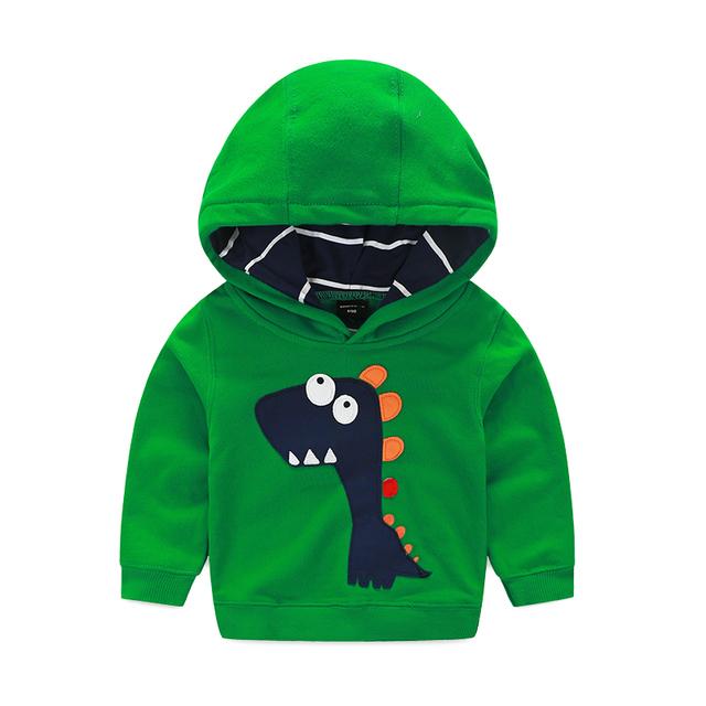 Cemigo Hoodies Meninos de Alta qualidade Crianças Moda Camisolas Quentes Meninas Bonito do teste padrão do Dinossauro Camisola Moda Infantil Top Roupas
