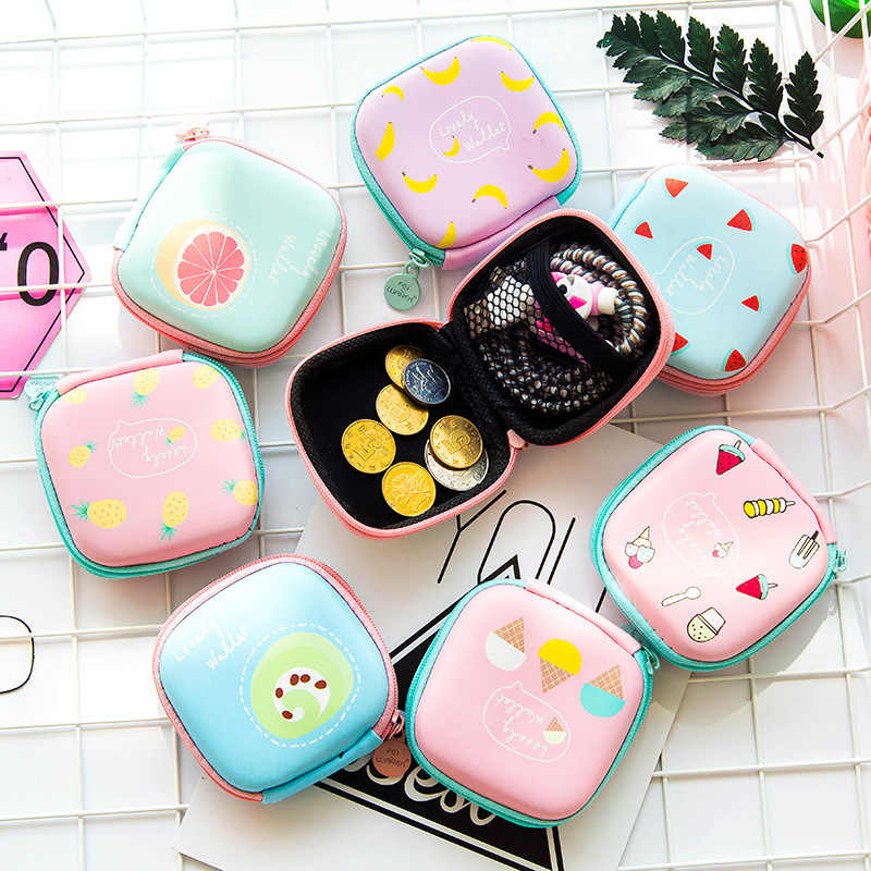 Finishing Containers Organizer Travel Phone Power Charger Headphone Cable Digital Storage Box Square Headset Pouch Bags