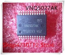 NEW 10PCS LOT VNQ5027AK VNQ5027 HSSOP 24 IC
