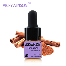 VICKYWINSON Cinnamon essential oil natural aromatherapy cinnamon oils Tighten skin Soothe digestive tract WD36