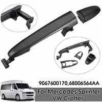 Black Exterior Outside Left Sliding Door Handle For Mercedes/Sprinter/ VW/Crafter 9067600170 68006564AA 2005 2006