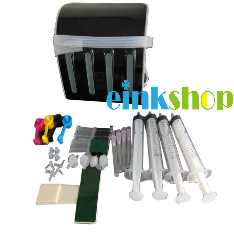 einkshop 4 Color CISS kits with all accessaries with ink tank for Epson/HP/Canon/Brother printer Continous ink supply system bulk ink system with decoder for epson gs6000 plotter large format printer ep gs6000 printer ciss ink system