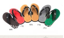 2014 summer Sandals leisure beach slippers,out door casual men's flip flop,Prevent slippery outsole free shipping 5 colors