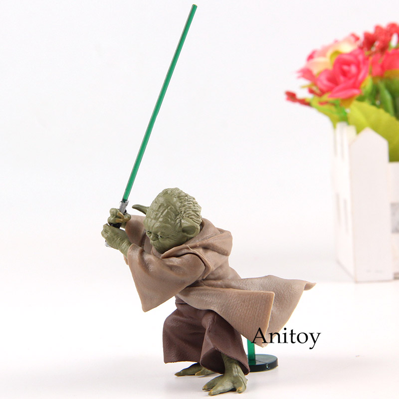 Action Figure Star Wars Jedi Knight Master Yoda PVC