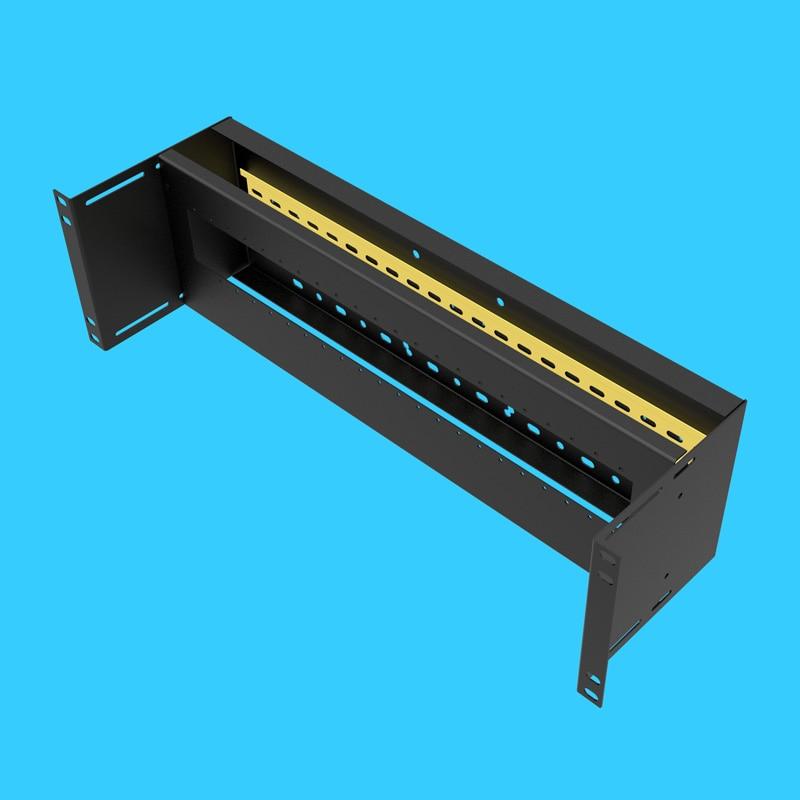 Rack unité de distribution électrique boîte protecteur de fuite installé boîte 3U interrupteur d'air armoire unité de distribution d'énergie