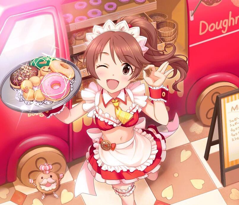 Idolmaster Noriko Shina cosplay costume commission