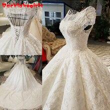 24750 High-end Train Wedding Dresses 2018 Bridal Gown