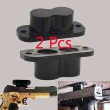 2 pcs Concealed Magnetic Gun Holder Holster Magnet  Rating for Car Under Table Bedside Pistol magnet CT10X2 Hunting