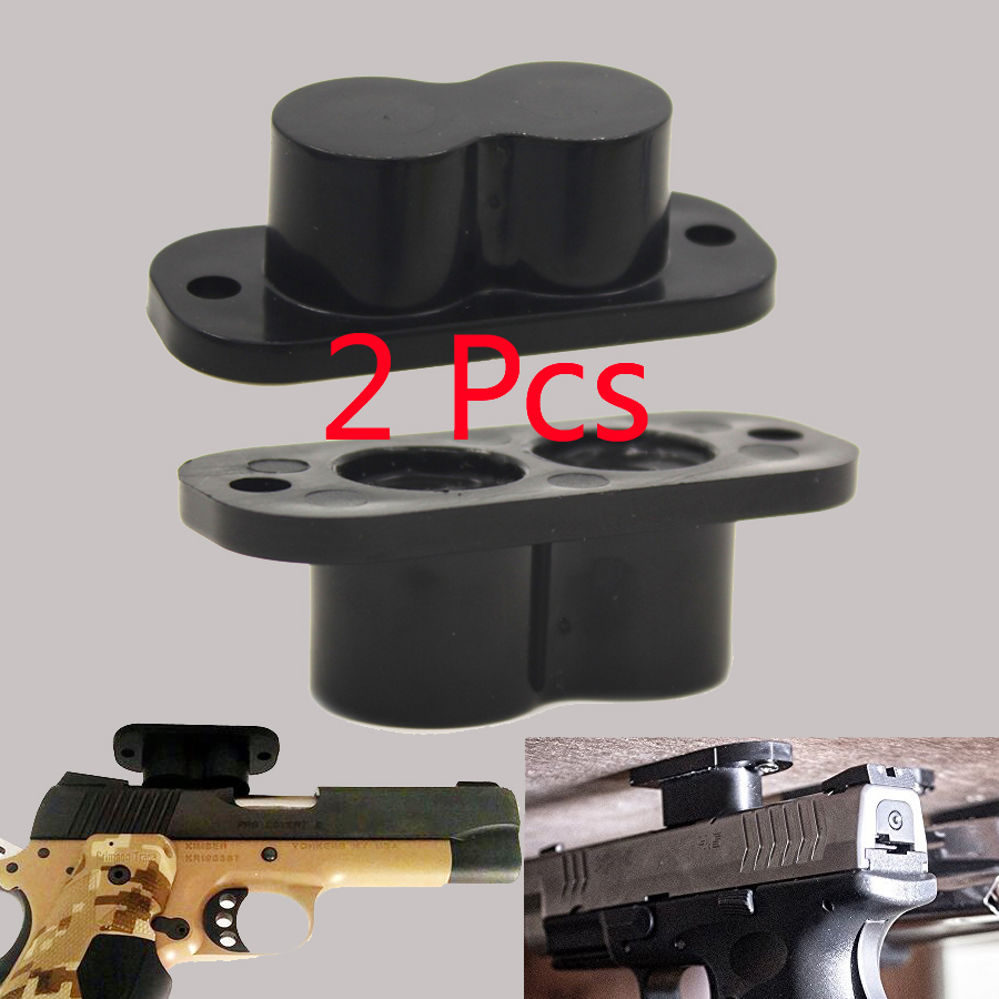 Gun Magnet Magnetic Gun Mount For Pistols Shotguns Rifle Concealed Gun Holder 25lb Rating Hunting Accessories Holsters