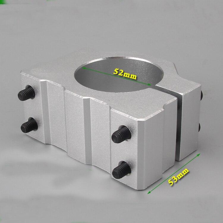 Mount Bracket Diameter 52MM For 300W 12V-48V air-cooled Spindle Motor Engraving цена