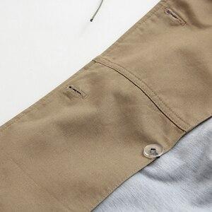 Image 5 - Vee Top – Manteau croisé décontracté et solide style trenchcoat pour femme, coloré, vêtements dextérieur, mode de bureau, avec épaulettes chics, 902229