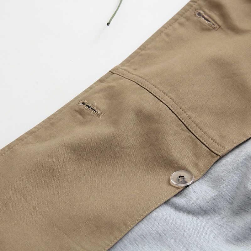 Vee Üst kadınlar casual düz renk çift göğüslü dış giyim moda sashes ofis ceket şık epaulet tasarım uzun siper 902229