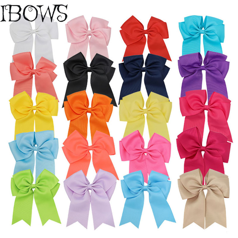 20Colors Large Grosgrain Ribbon Cheer Bow With Clips Cheerleading Hair Bow With Alligator CLip Dance Bows For Girls cowhide genuine leather diamonds lady hand bag small shoulder envelope messenger women clutch bag luxury banquet lady chain bags