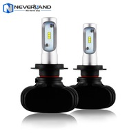 NIGHTEYE H7 50W 8000LM 6500K CSP LED Car Headlight Conversion Kit Fog Lamp Bulb DRL Super