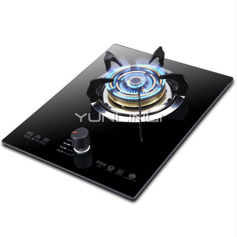 Single-burner Gas Stove Embedded/Table Type Gas Furnace Household Gas Cooker JZY-G610TSingle-burner Gas Stove Embedded/Table Type Gas Furnace Household Gas Cooker JZY-G610T