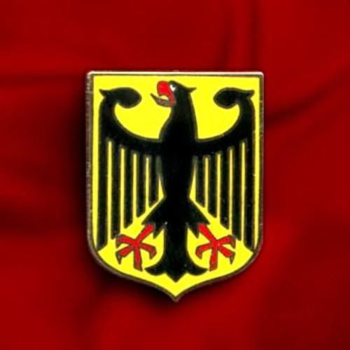 CHEAP GERMANY EAGLE COAT ARMS CREST GERMAN FLAG LAPEL PIN ...