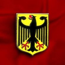 CHEAP GERMANY EAGLE COAT ARMS CREST GERMAN FLAG LAPEL PIN DEUTSCHLAND BUNDESADLER LOW PRICE CUSTOM EAGLE BADGES