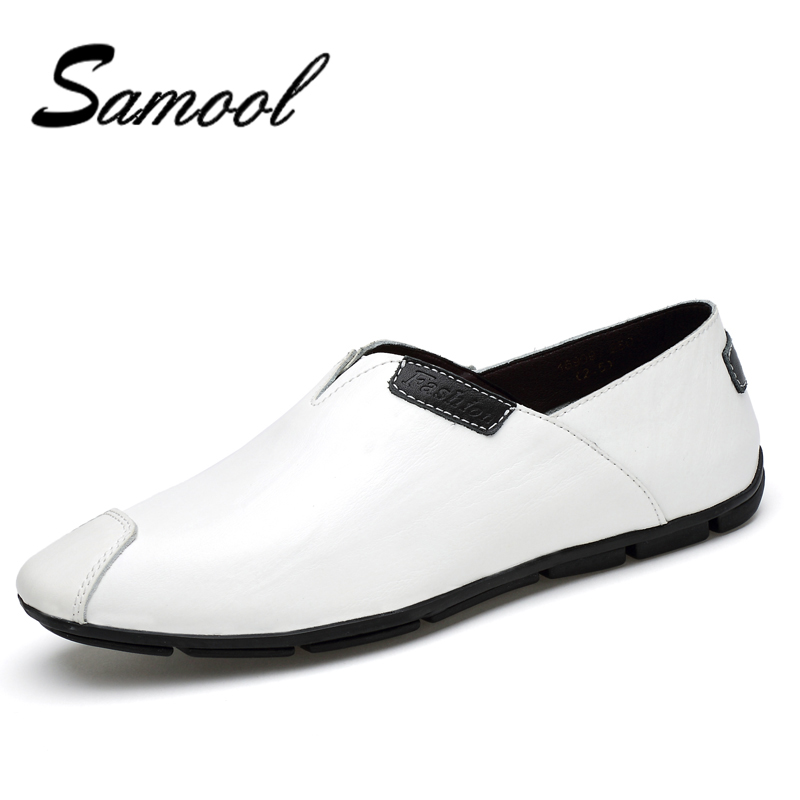 Mens Breathable High Quality Casual Shoes Soft Genuine Leather Moccasins Men Driving Shoes Slip On Loafers Big Size 36-47 QX5 handmade men flats shoes big size 45 46 47 loafers moccasins oxford genuine leather casual driving shoe soft breathable men shoe