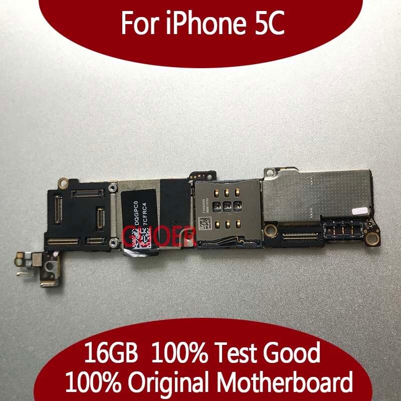 16 ГБ разблокирована плата для iPhone 5C материнская плата с чипами, 100% Полный полностью оригинальный, хорошие рабочие