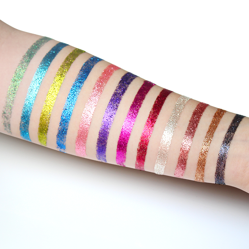 IMAGIC Glitters Eyeshadow Paleta cieni do powiek 12 kolorów Paleta - Makijaż - Zdjęcie 3