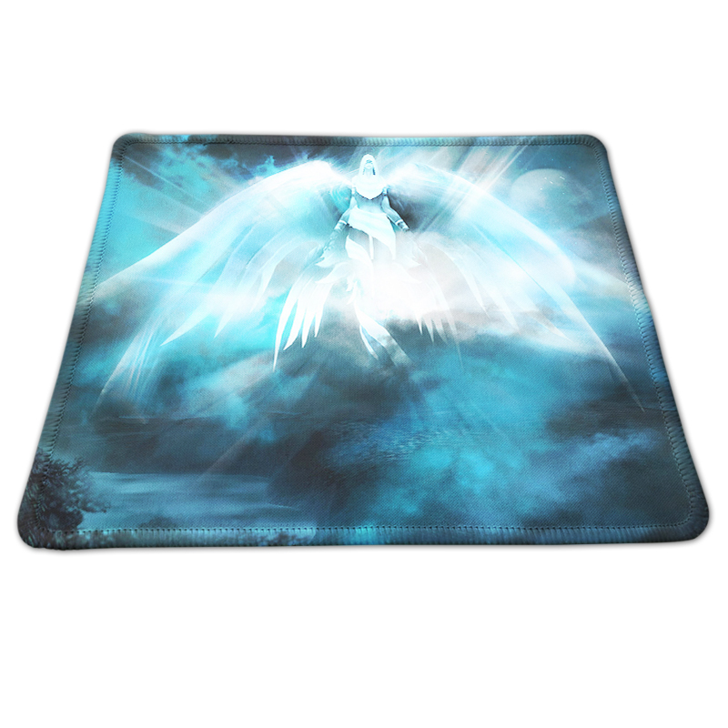 Custom Printing Fairy Magic Unbounded Style Rubber Mousepad PC Computer Laptop Gaming Mousemat for Optical Laster Mice Mat