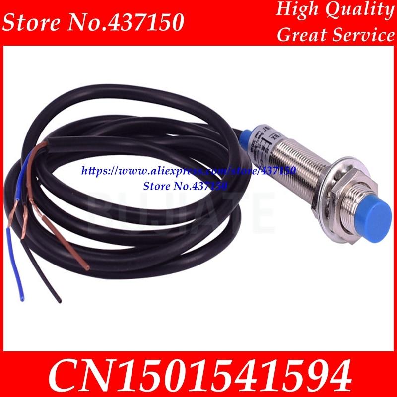 10 шт. X LJ12A3 4 Z/PNP индуктивный датчик обнаружения Переключатель DC6 36V 12 мм Новый; LJ12A3 4 Z/BX NPN-in Сенсоры from Электронные компоненты и принадлежности on AliExpress