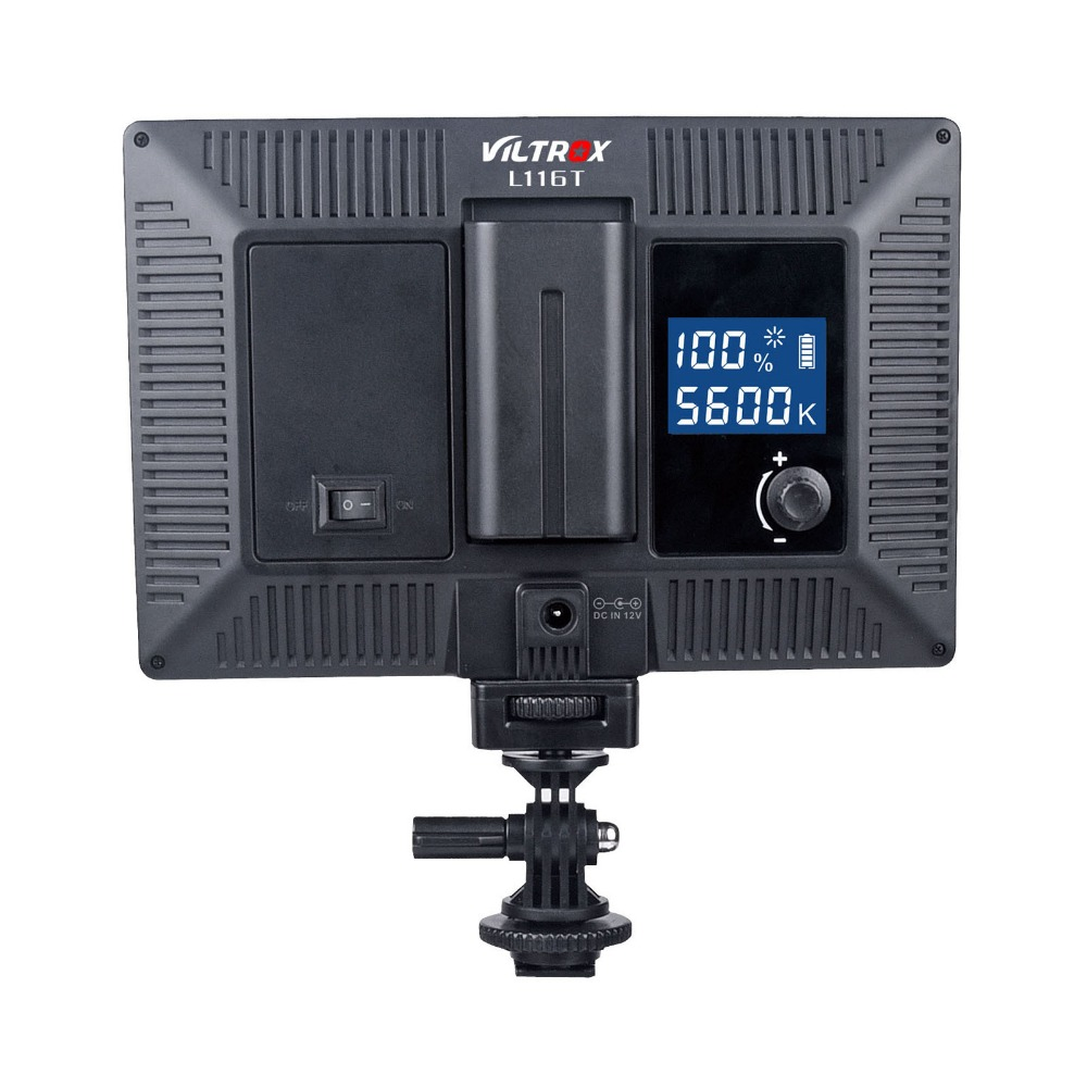 Viltrox L116T LCD-Display zweifarbig und dimmbar schlankes - Kamera und Foto - Foto 4