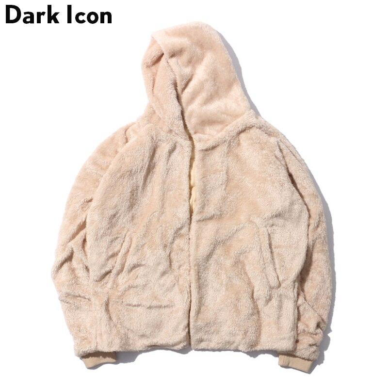 Sherpa Hoodie Men Cardigan Men's Hoodies 2017 Winter Streetwear Warm Hoodie Man Clothing