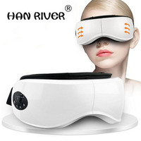 Body massager eyes and mp3. Using wireless vibration device heating magnetic therapy massage. Be careful of myopia