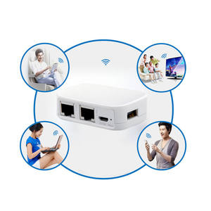NEXX WT3020 300 Mbps Wifi Router Bridge with USB Flash Drive WT3020F