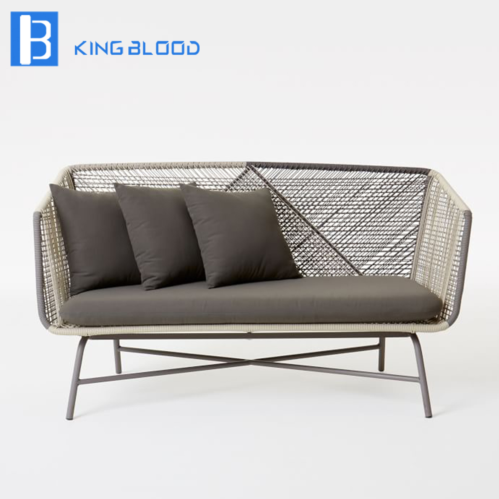 Rope Patio Furniture.Us 600 0 Outdoor Patio Furniture Aluminum Frame Rope Woven Sofa Set In Garden Sofas From Furniture On Aliexpress Com Alibaba Group